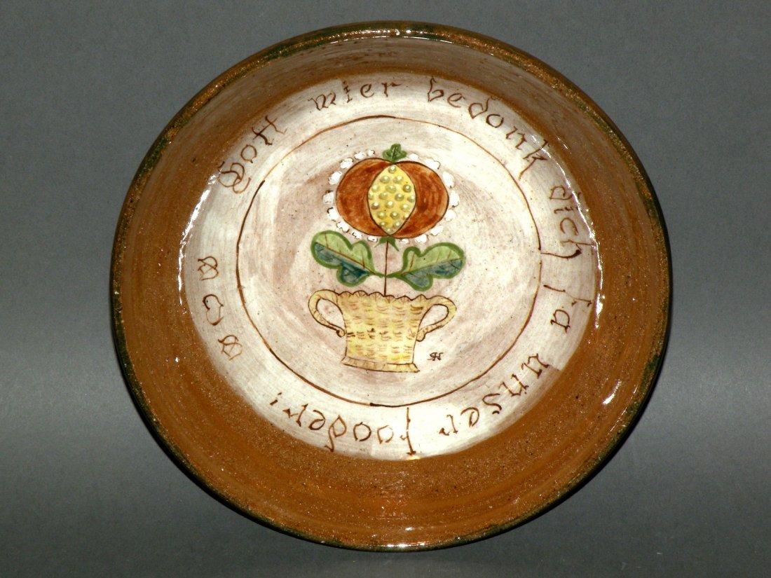 17: Left Handed Russell Henry bowl