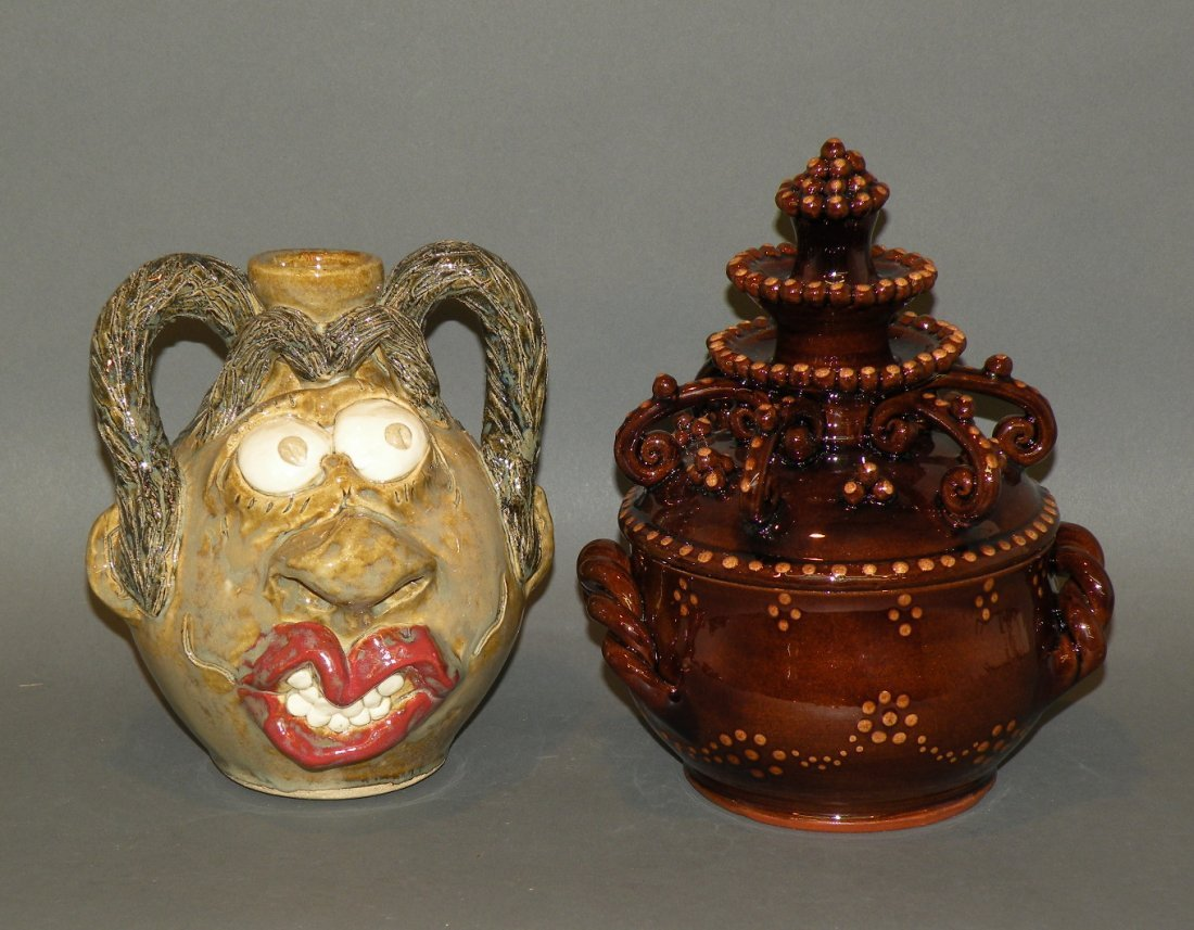 20: 2 pieces of pottery