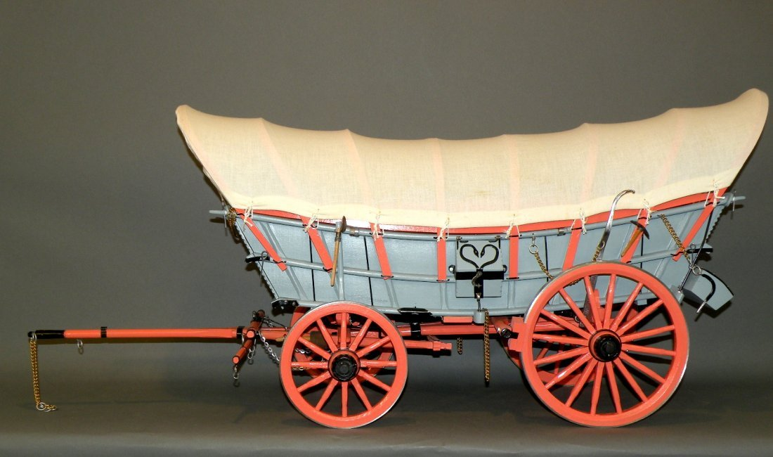 87: Stumpf Conestoga Wagon model