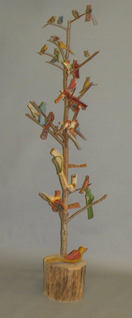 96: 6' Strawser bird tree