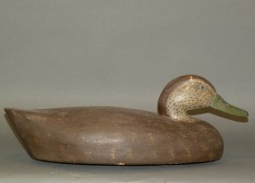Wild Fowler Factory Black Duck Decoy