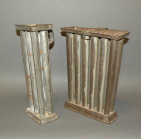 2 Candle Molds