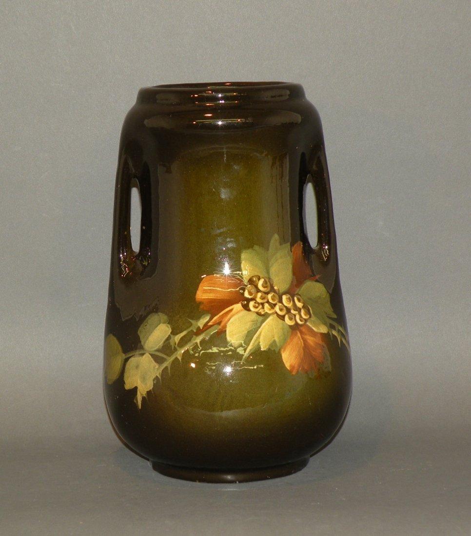 166: Weller art pottery vase