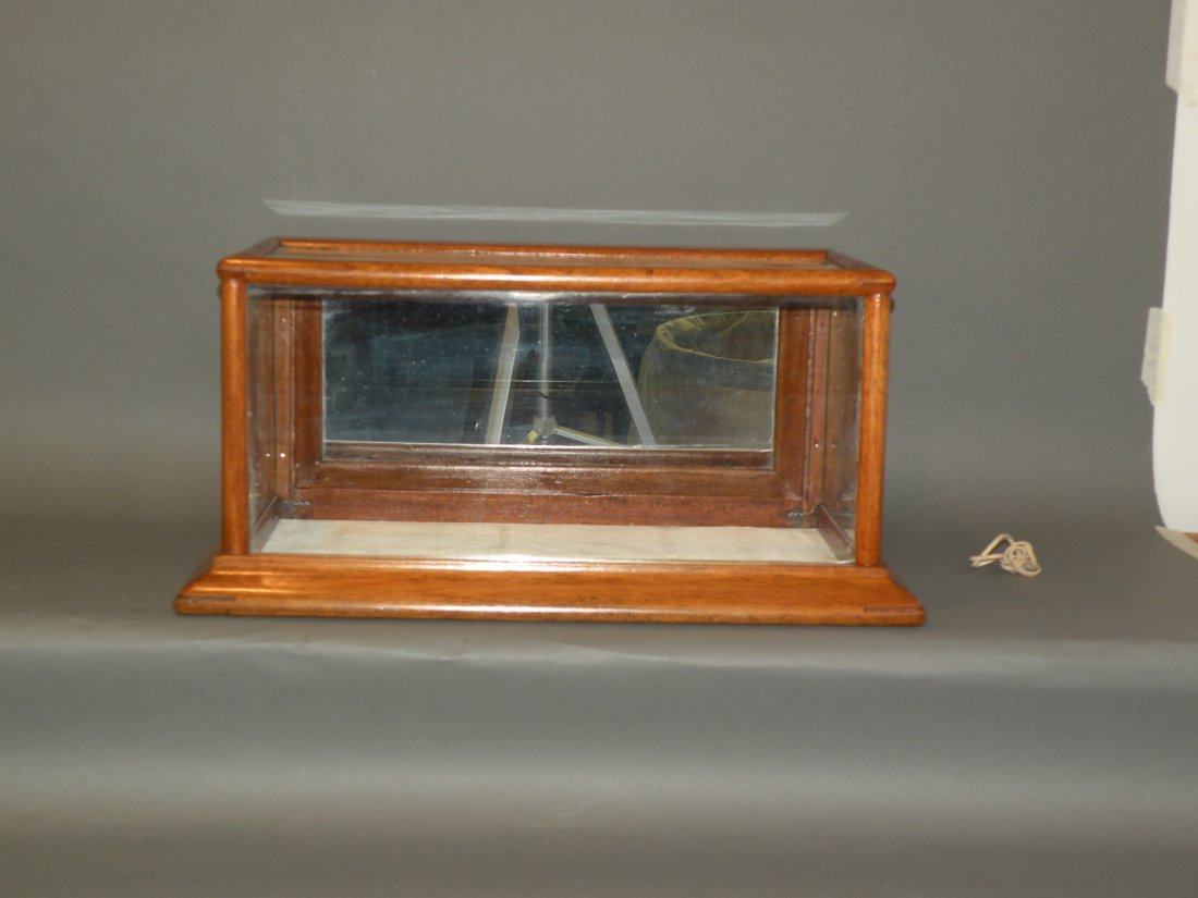 308: Glass & wood display case