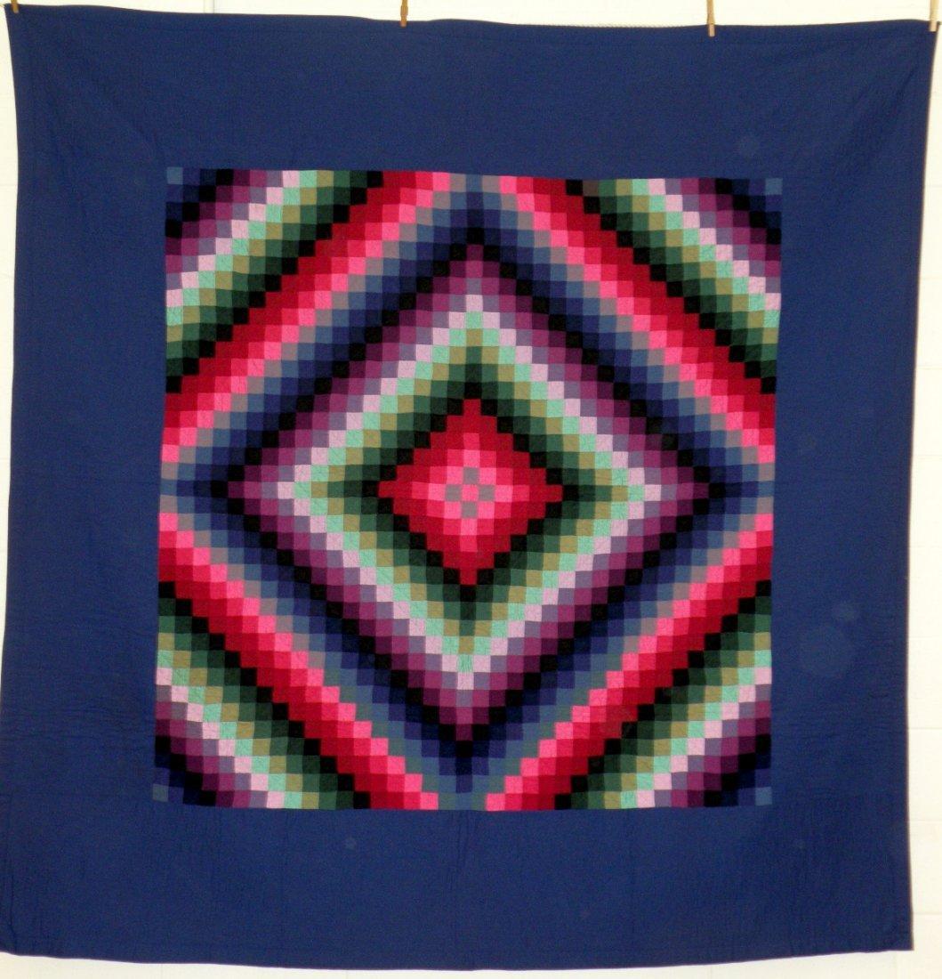 408: Amish sunshine & shadows pattern quilt