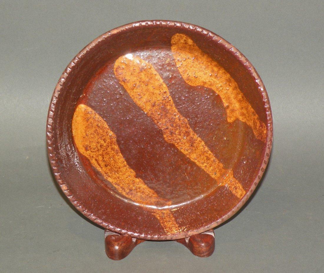 470: Schofield slipware dish