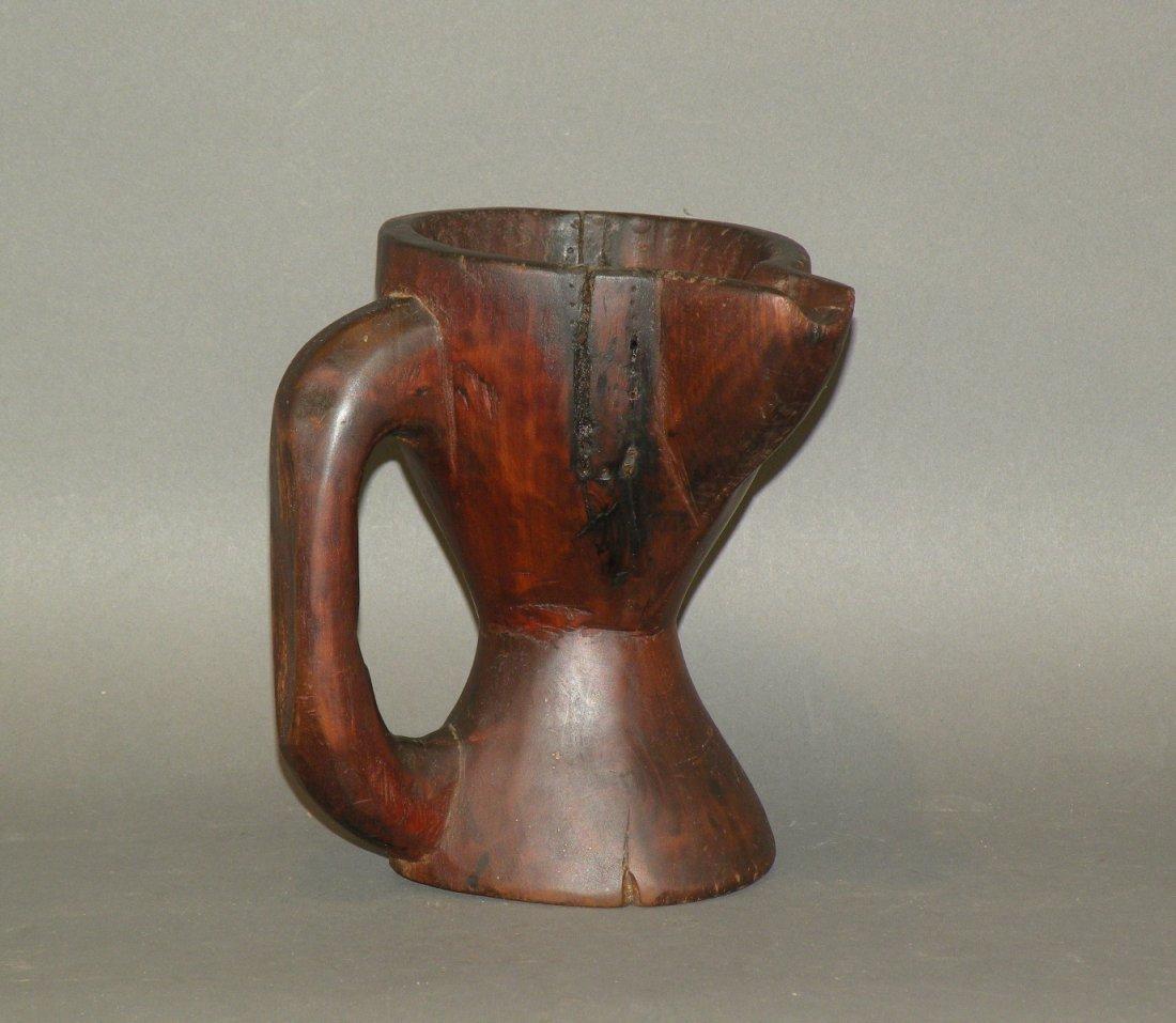 474: Wooden pitcher