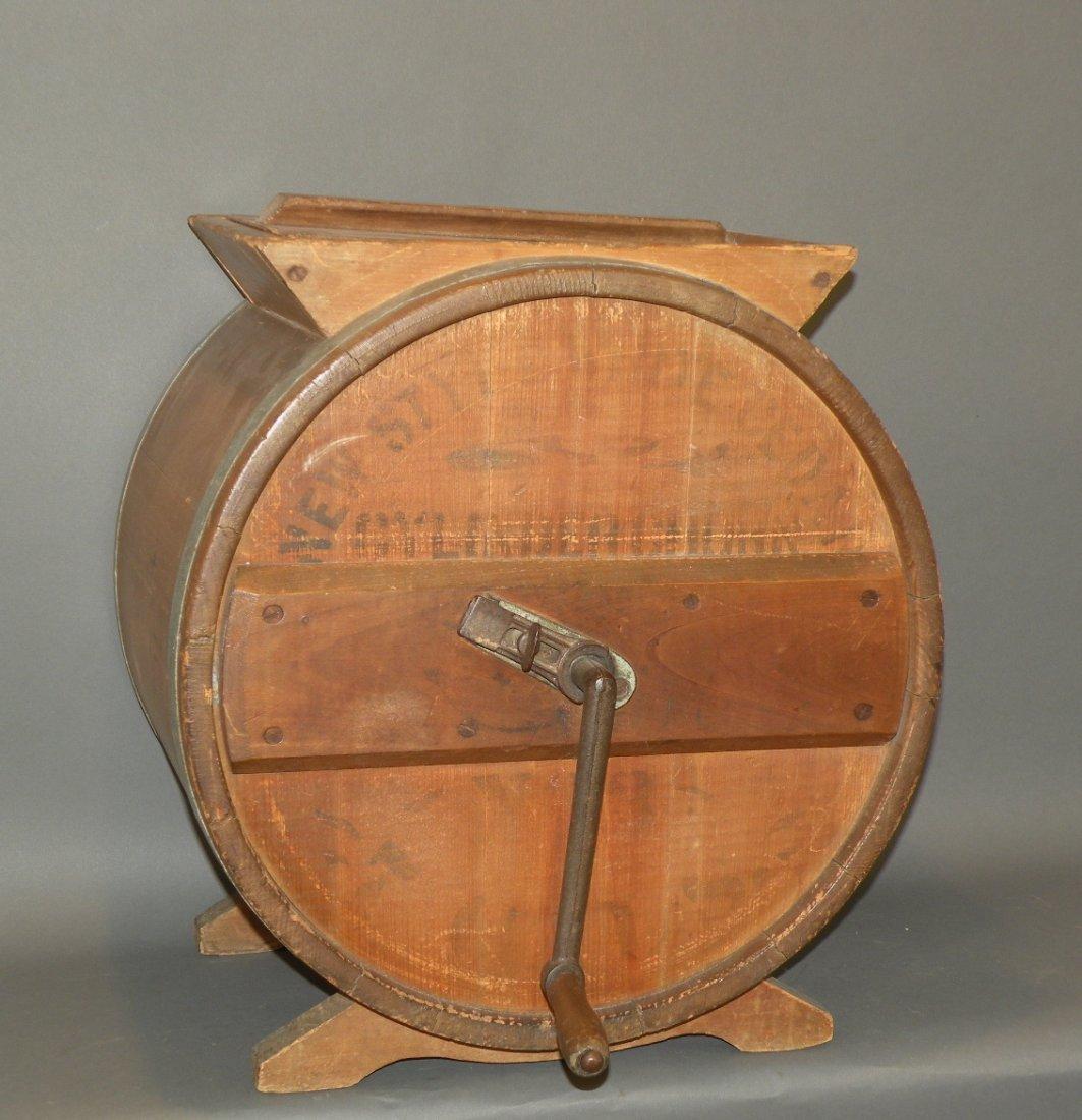 482: Barrel type butter churn