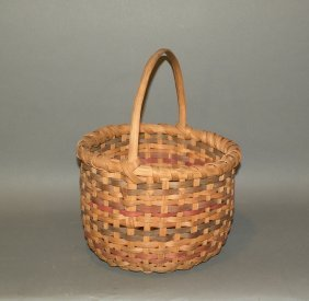 Splint Wood Gathering Basket