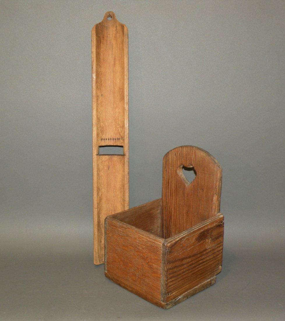 527: Wall box & corn creamer board