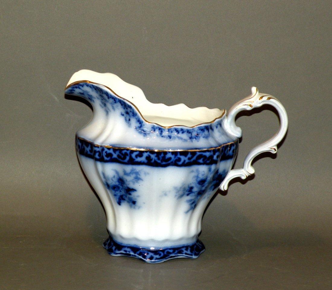 552: Touraine flow blue milk pitcher