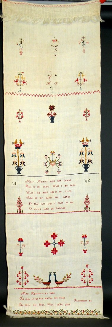 565: Decorated hand towel