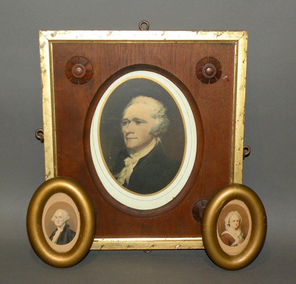 572: 3 framed prints