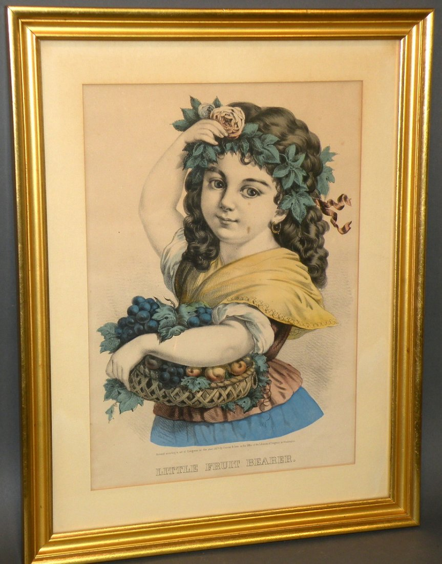 574: Currier & Ives print