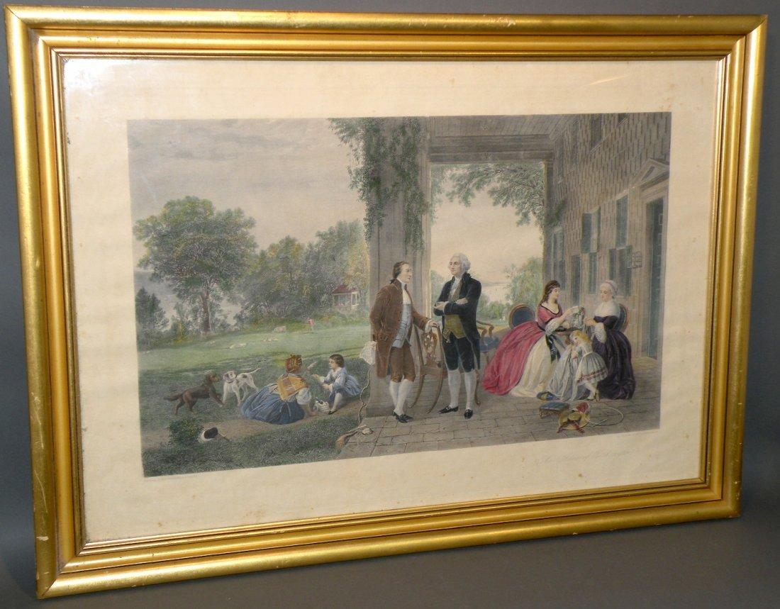 576: Thomas Oldham Barlow engraving