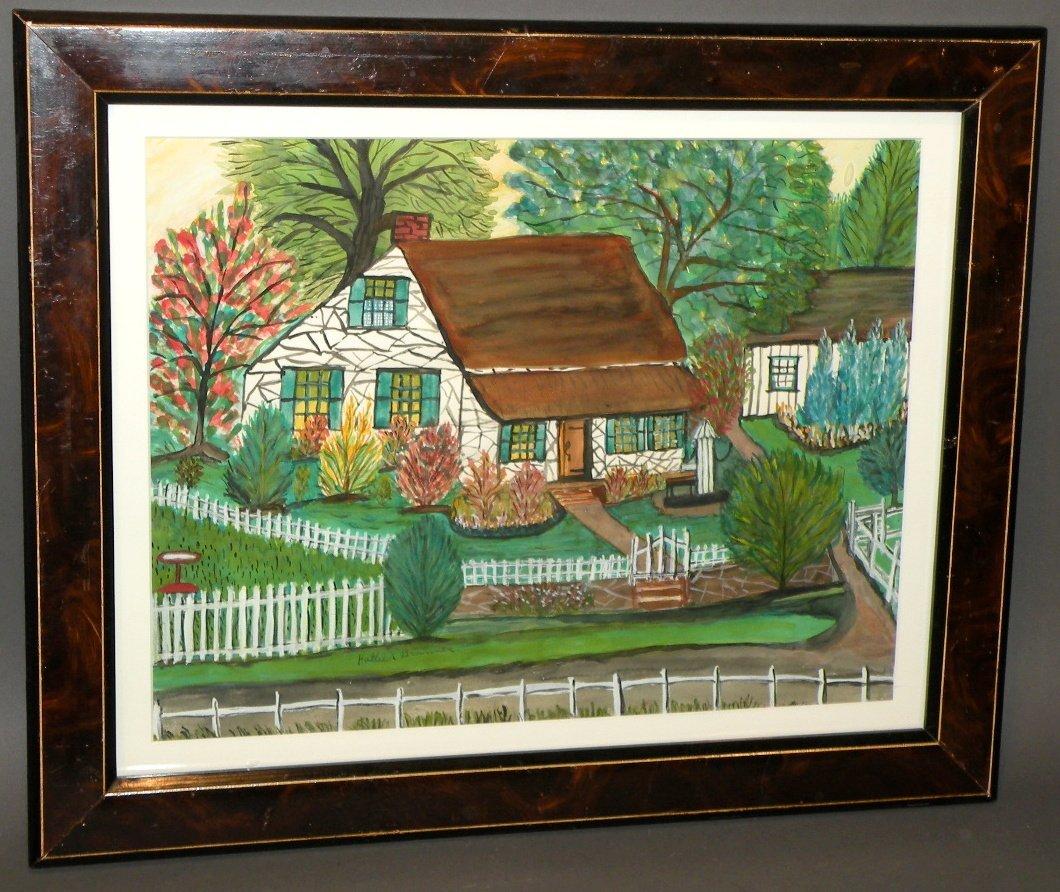 581: Hattie Brunner watercolor