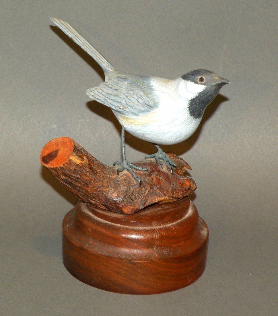 George & Bet Nelson bird carving