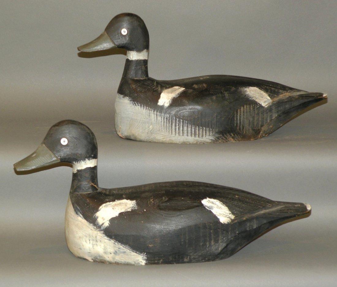 2 duck decoys