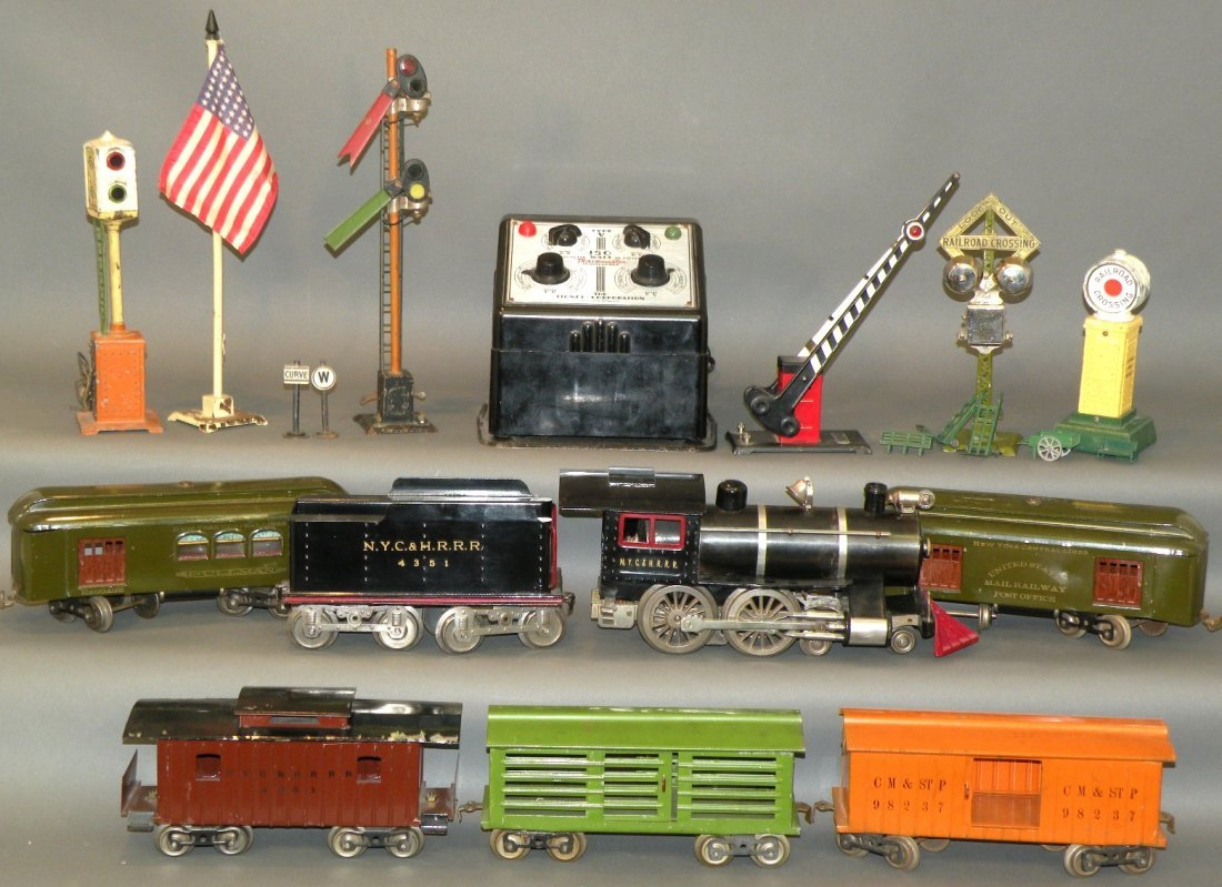 Lionel standard gauge train set