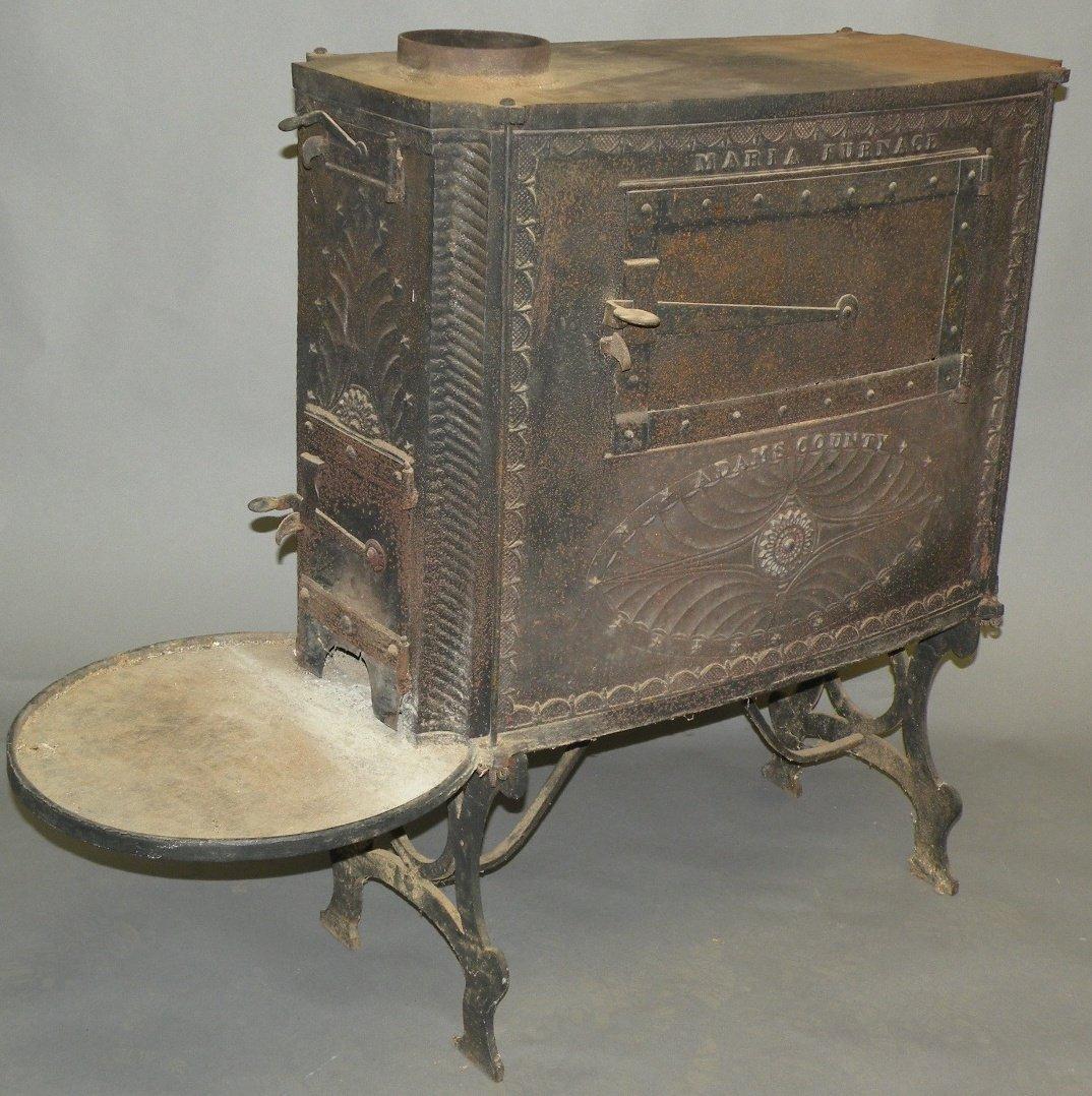11: Adams county ten plate stove