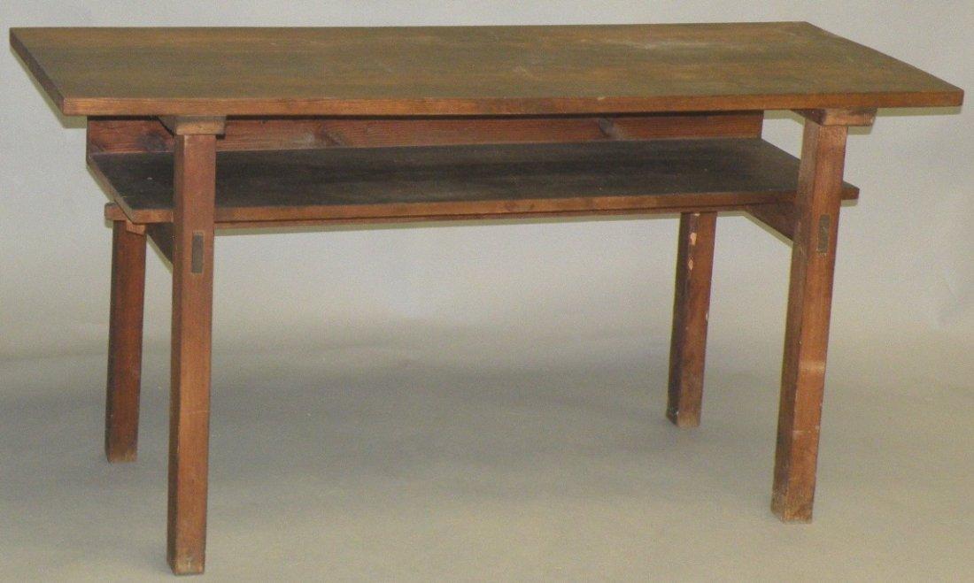 19: Snow Hill preacher's table