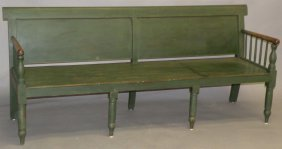 24: Snow Hill paneled back settee