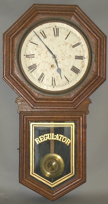 25: Meetinghouse wall clock