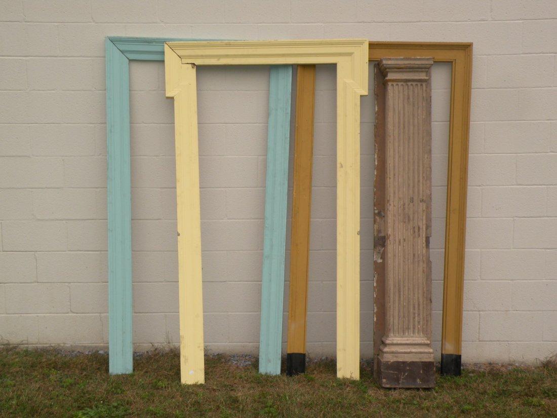 28: Door casings & reeded pilaster