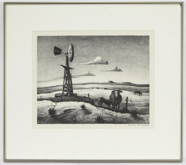 """2: Thomas Hart Benton (1889-1975), """"West Texas"""" 1952"""