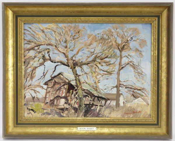 """13: Reveau Bassett (1897-1981), """"The Old Shack"""""""