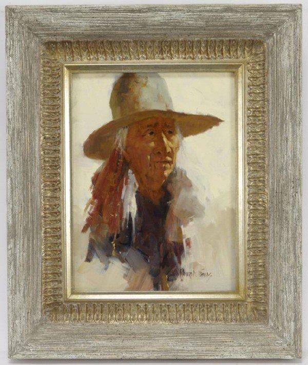 "18: Richard D. Thomas (B. 1935) ""Lakota Sioux Elder"""