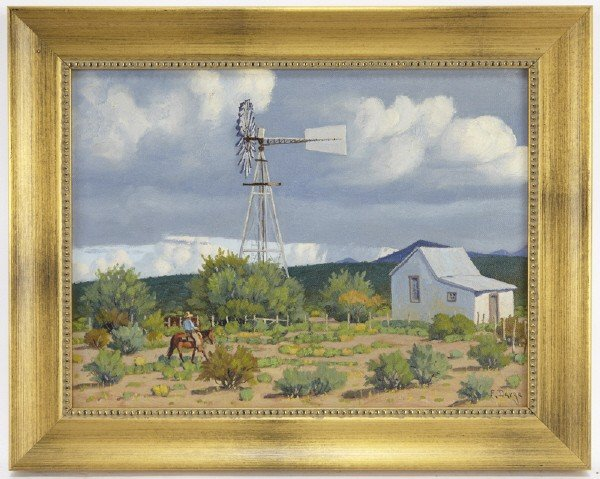 """22: Fred Darge (1900-1979), """"Approaching Storm"""