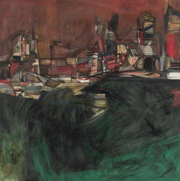 "9: Charles Bert Reese (b. 1966), ""Lime Kiln-Austin"""