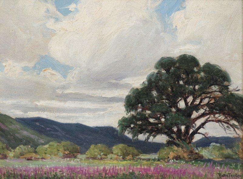 """23: Rolla Taylor (1872-1970), """"Great Oaks from Little"""