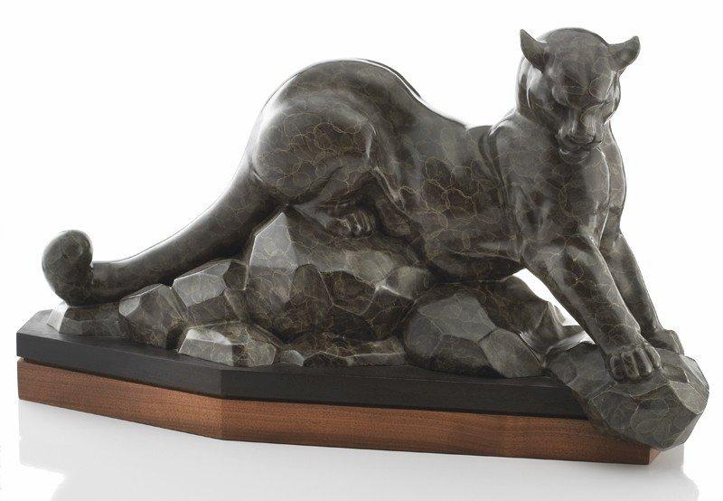"44: Gerald Balciar (b. 1942), ""Pride"" bronze"