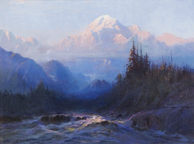 "170: Sydney Laurence (1865-1940), ""Mount McKinley"""