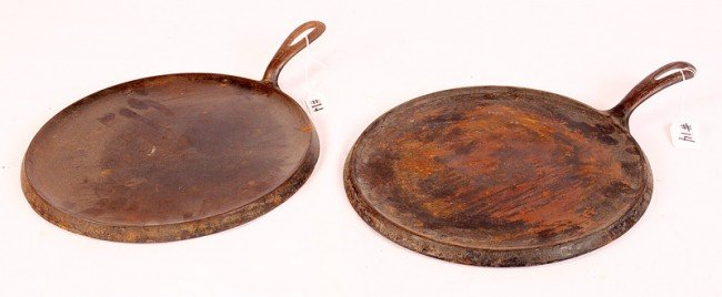 14:  Choice of Two #10 Griswold Griddle