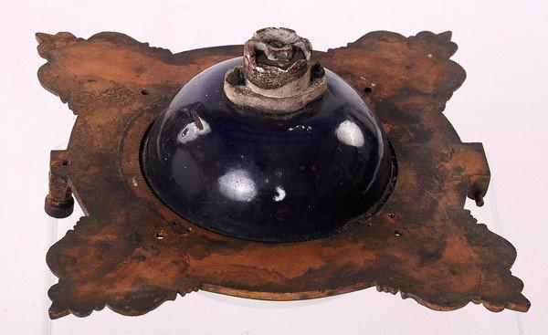 5: Old Brass Railroad Light, Original Shade