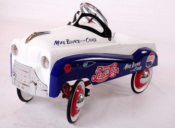 19: Newer Pepsi Child's Pedal Car, unused condition