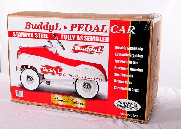 21: Unopened Buddy L Child's Pedal Car