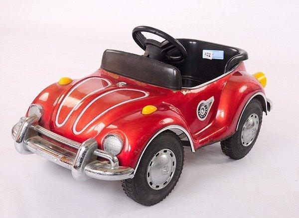 22: Older Volkswagen Pedal Car