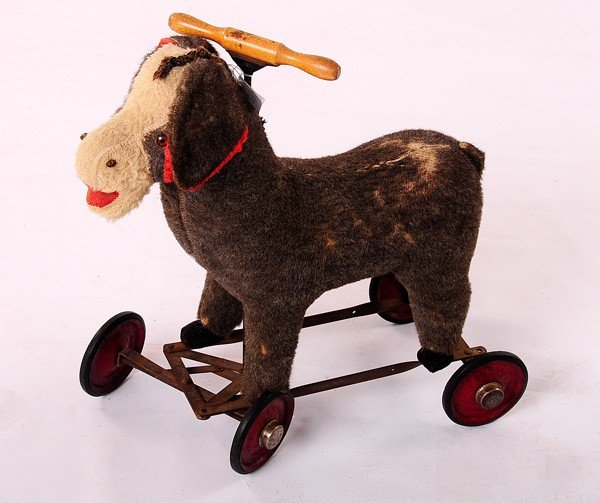 24: Older Child's Lamb Rolling Toy