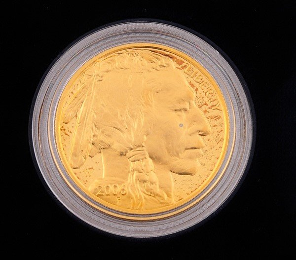 222: 2006 American Buffalo One Ounce Gold Proof Coin