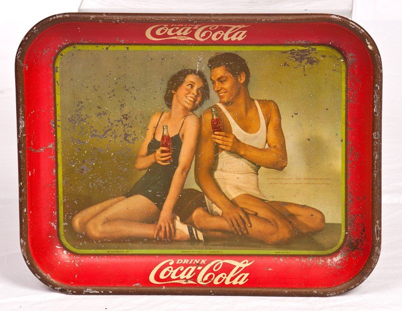 3: 1934 Wisemiller Coca Cola Tray