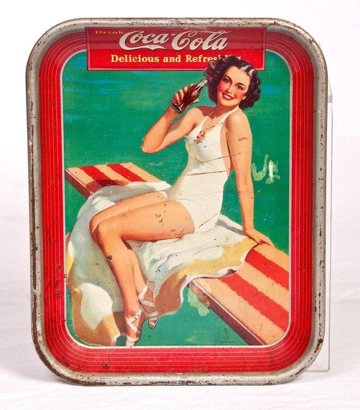 8: 1939 Coca Cola Tray