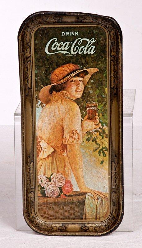 9: 1916 Coca Cola Tray