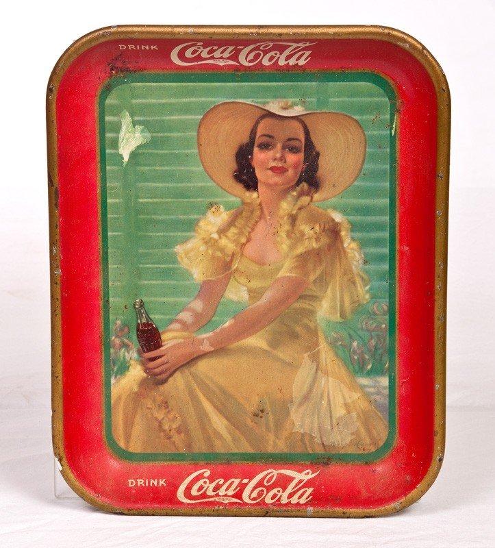 10: 1938 Coca Cola Tray
