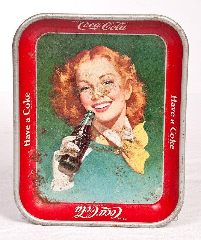 11: 1950 Coca Cola Tray