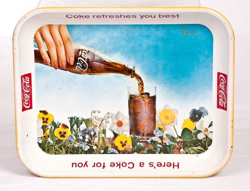 13: 1961 Coca Cola Tray