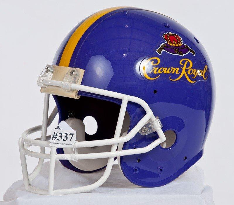 337: 902- Crown Royal Football Helmet